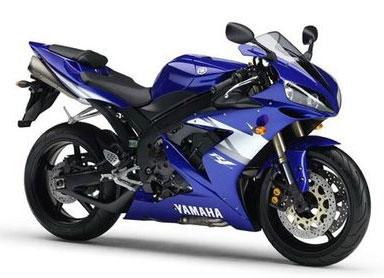 Картинки Yamaha R1 blue.